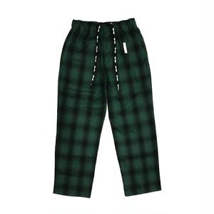 FULL-BK - TOKYO CHECK PANTS (GREEN) -