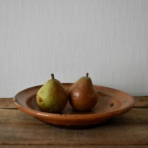 Rustic Redware Pottery large plate