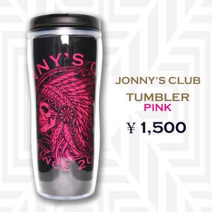 JONNY'S CLUB タンブラー<ピンク>