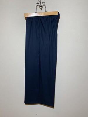 紺青色ワイドパンツ