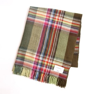 THE INOUE BROTHERS/Multi Coloured Scarf/Green