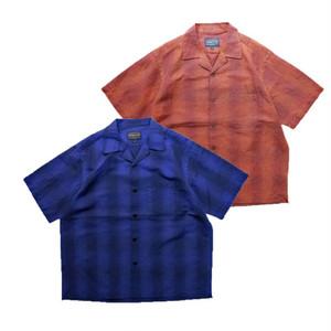 PENDLETON/ペンドルトン Open Collar Shirts(ブルー)(ブラウン)