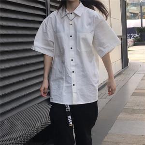 カジュアルコットンシャツ