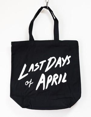 Last Days Of Aprilキャンバストートバッグ
