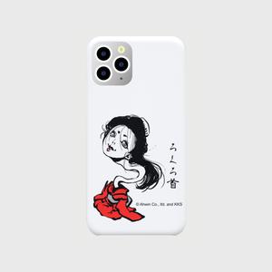 あやかし図録:ろくろ首 オリジナル スマホケース(iPhone 11 Pro:ホワイト)