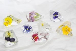 2014年4月納品Aセット 【花氷樹脂8個セット×2+氷8個セット×1】 【20セット限定】