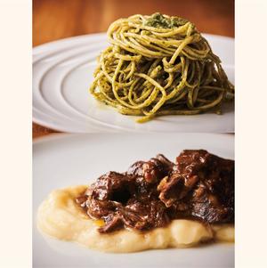 【Course】パスタ&メイン料理のショートコース 2人前