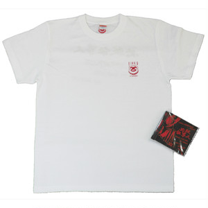 [T Shirt + CD] 必殺仕事人 T Shirt, CD Set (WHITE)
