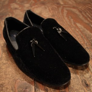 Velor loafers