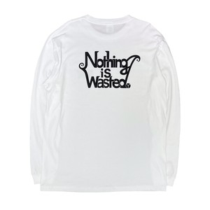 Nothing is Wasted. 1st logo Black