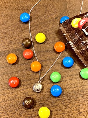 Chocolate Necklace Silver/シルバー ネックレス / IN-PUT-OUT