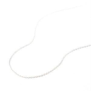 [パーツ]SV925ネックレスチェーン45cm M0104