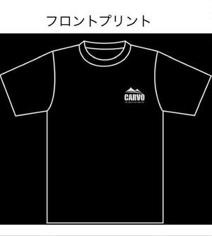 CARVOオリジナルTシャツ 【ブラック】