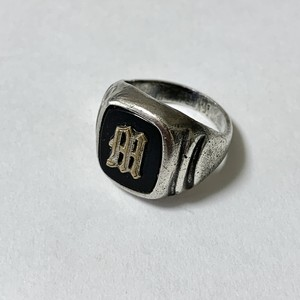 Vintage ESPO Stearling Initial Ring
