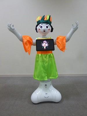 ロボット☆ファッション☆民族衣装☆ブラジル☆サンバ衣装☆Pepper向け PSMB17-001
