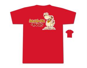 【赤】ロゴ入りTシャツ(第一弾お申込締切:6月10日)
