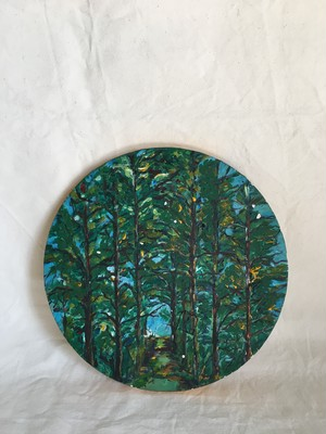 Canvas Art-Forest