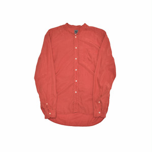 BEST PACK Band Collar L/S Shirt Red BP19S-SH01