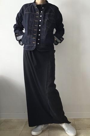 sisisi-comfort/ basic denim jacket