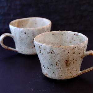 粉引きマグカップ
