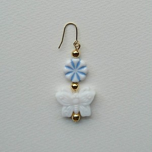 china butterfly pierce(white)
