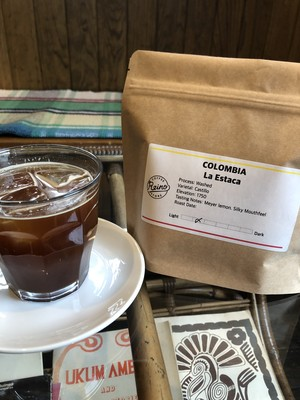 Colombia La Estaca Washed −中煎り− [200g]
