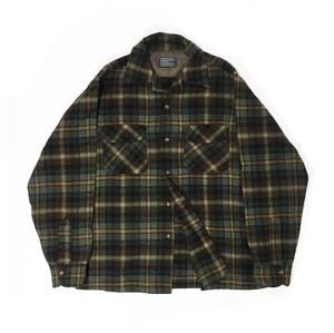 60's PENDLETON open collar shirt
