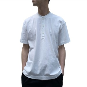 HELICAL S/S HENLEY TEE 【CURLY】