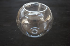キャンドルホルダー ガラス
