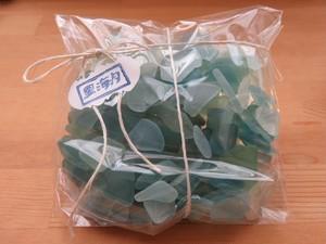 南房総のシーグラス 200g グリーン・ブルー小