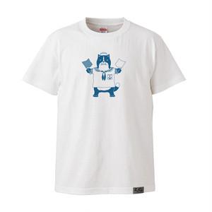 【Tシャツ】ネコおっさん 水兵