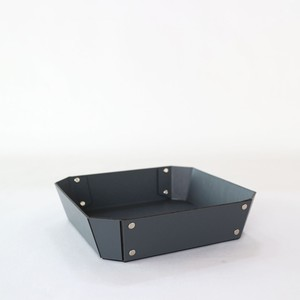 concrete craft 8_TRAY Mサイズ W19 × D19 × H4.5cm パスコ トレー ステーショナリー 機能性 収納雑貨 スタッキング