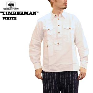 "FREEWHEELERS/フリーホイーラーズ GREAT LAKES GMT. MFG.Co. ""TIMBERMAN"" WHITE Lot 1733009 シャツ/SHIRTS"