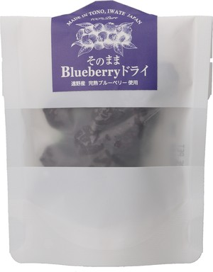 「そのままBlueberryドライ」25g 無砂糖・無添加