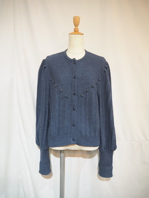 Tyrolean Puff Sleeve Cardigan [G-933]