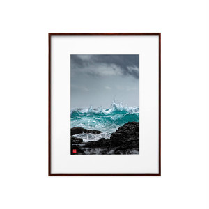 美しい荒海(ホワイトボード)A4サイズ