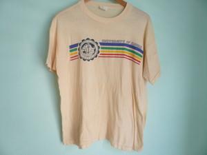 ビンテージ古着 ハワイ大学 UNIVERSITY OF HAWAII パキ綿 パキスタン製 綿100% カレッジ Tシャツ / 60s70sOLD