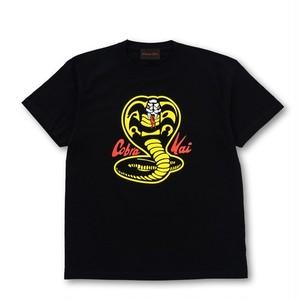 コブラ会 Cobra Kai ビッグスネークロゴ Tシャツ