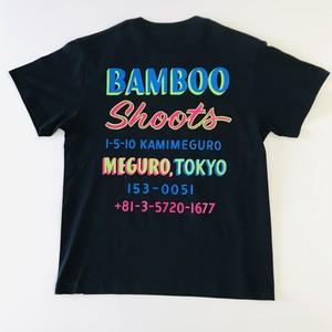 BAMBOO SHOOTS ロゴTシャツ ブラック