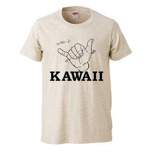 Hawaii kawaii  プリントTシャツ
