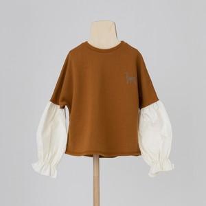 folk made  switch pullover M/L orange brown F21AW-008 ※メール便1点までOK