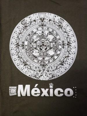 42  メキシコ製Tシャツ Lサイズ  アステカ柄