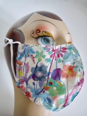 再販:夏用布マスク レディースL <裏:メッシュ>送料¥250