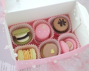 トゥンカロン6個入り PinkBox /韓国マカロン