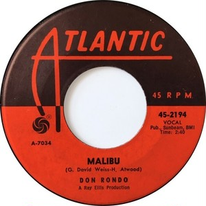 Don Rondo – Malibu / So Did I