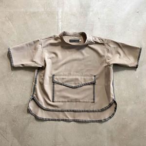 【nunuforme】34-nf15-563-118 パイピングシャツ Free