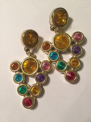 Vintage bijou earrings