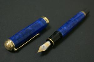 2010 ペリカン スーベレーン M800 Pelikan Souverän M800 blue o' blue 18C     00482