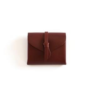 折りショートウォレット#ブラウン / ori short wallet #brown