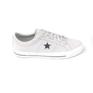 CONVERSE ONE STAR PRO OX PALE PUTTY/WHITE/WHITE